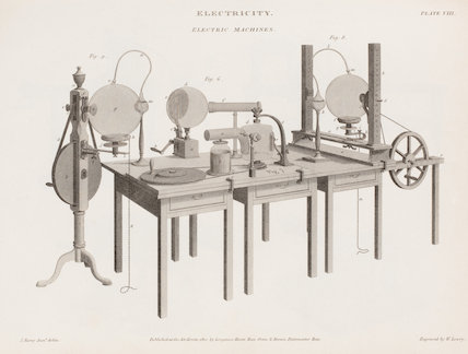 Electric Machines: Rees' Cyclopaedia