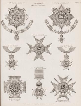 Orders of Knighthood: Rees' Cyclopaedia