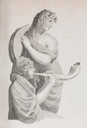 A Timbrel & A double Lituus: Rees' Cyclopaedia