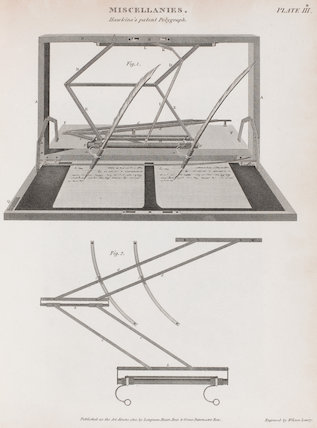 Hawkins's patent Polygraph: Rees' Cyclopaedia