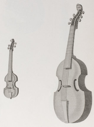 Violino Piccola & Viol de Gamba: Rees' Cyclopaedia