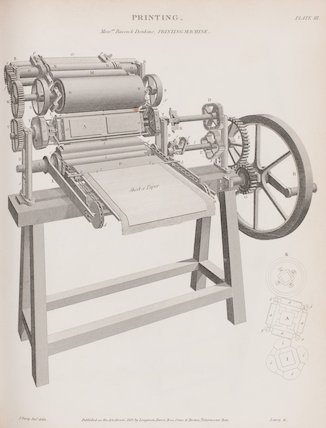 Mess.r.s. Bacon & Donkins Printing Machine.