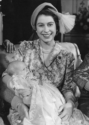 The Christening of Princess Anne.