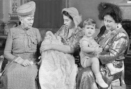 Princess Anne's Christening