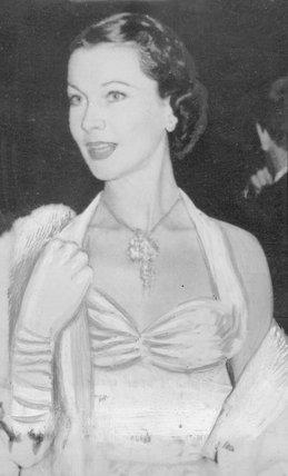 Vivien Leigh portrait