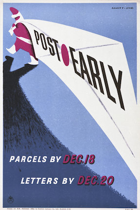 Post early. Parcels by Dec. 18. Letters by Dec. 20 - 1948