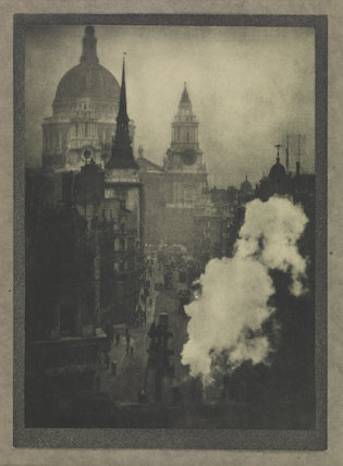 'St. Paul's from Ludgate Circus'