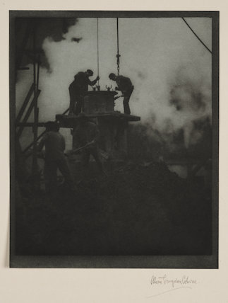 'New York - Excavating', about 1905