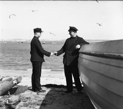 Isles of Scilly - messenger at St Mary's Island - 1936