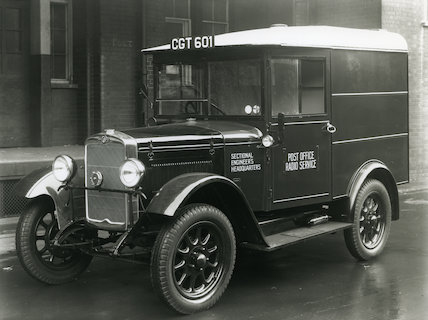 Morris L2.8 Radio Service van - 1935