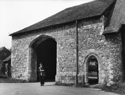 Winchester - Hyde Abbey - 1937