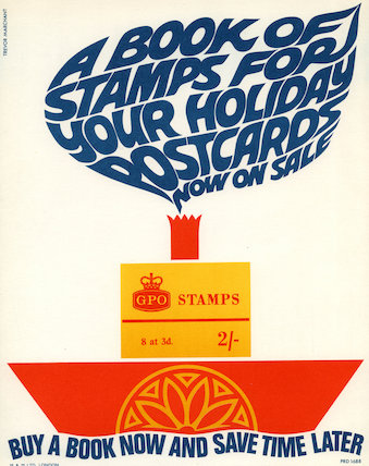 A book of stamps for your holiday - postcards now on sale - c.1966
