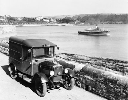 St Mawes - mail van  - 1937