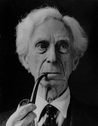 Bertrand Russell-Philospher - 1954