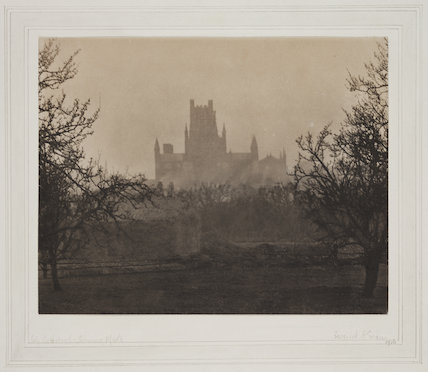 'Ely Cathedral: Evening Mists', 1916