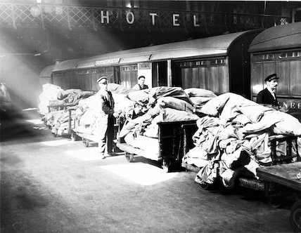 Hook of Holland boat train - Liverpool Street Station  - 1935