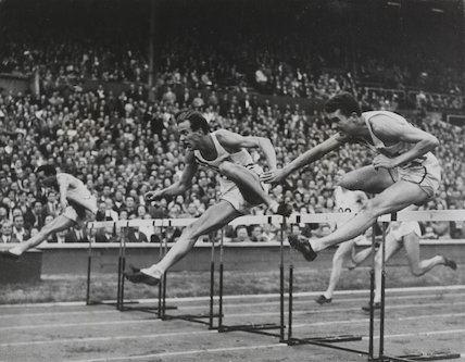 Americans 1-2-3 in Olympic 110 Metres Hurdles