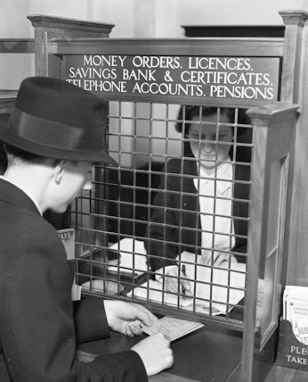 Cannon Street Branch Office - Savings Bank - 1935
