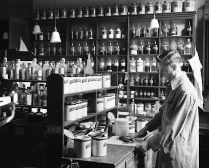 Post Office - Medical Department - 1935
