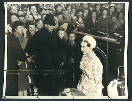 Princess Margaret arriving for AGM of NSPCC