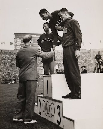 Winners of the men's 400 metres at the Olympics, London, 1948