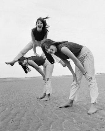 Karlin Triplets-leapfrog in triplicate - 1966
