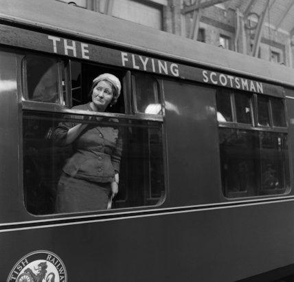 Flying Scotsman-Train - 1962
