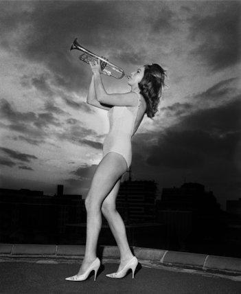 June Birch Trumpeter - 1964