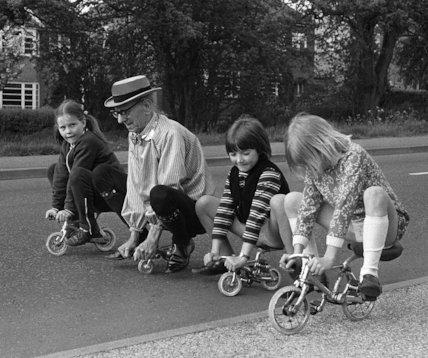 Alf Tabs micro bikes - 1973