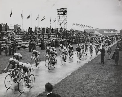 The Olympic Cycling Road Race at Windsor