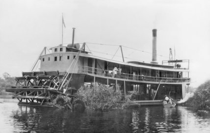 The American riverboat Parahyba - c1905