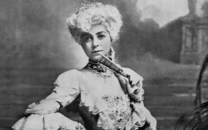 Vesta Tilley Wearing Theatrical Costume - c1908