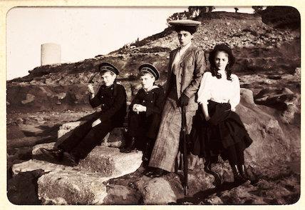 Group portrait, c.1915