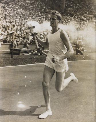 John Mark Olympic Torch Bearer