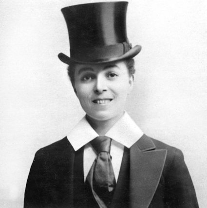 Vesta Tilley, Music Hall Singer and Male Impersonator - 1905