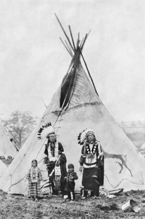 Native Americans - c1880