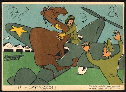 My mascot ! - 1943