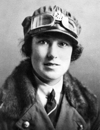 A  W.R.A.F. Flight Officer - 1917
