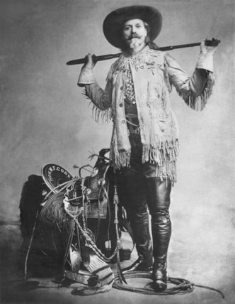 William Frederick Buffalo Bill Cody - c1900