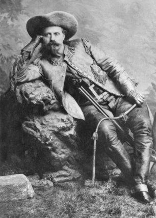 William Frederick Buffalo Bill Cody - c1890