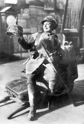 Vesta Tilley, Music Hall Singer and Male Impersonator - 1914