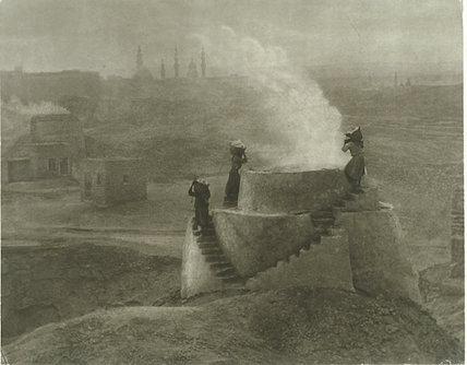 'Lime Kilns, Cairo'