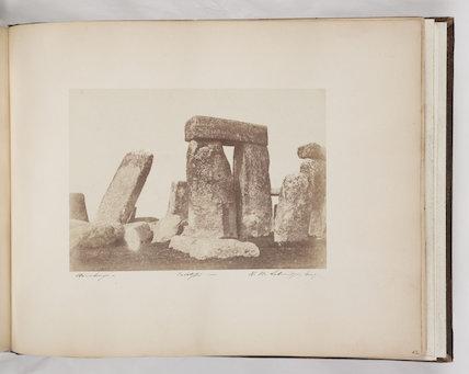 'Stonehenge', September 1855