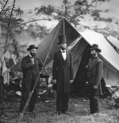 Abraham Lincoln with John Alexander McClernand
