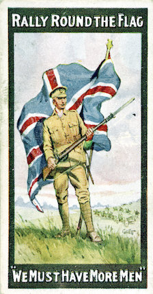 Cigarette cards - WW1 Recruiting