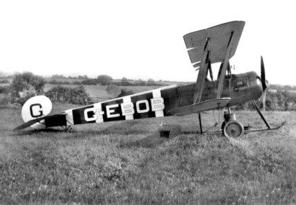 An Avro 504 - 1913
