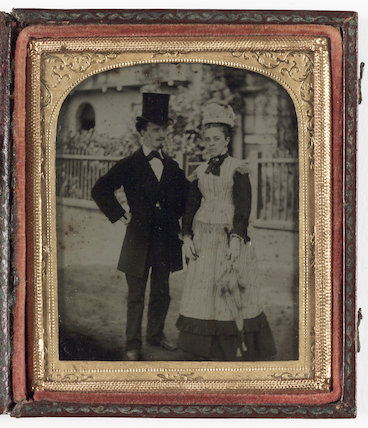Butler and Housekeeper, about 1860