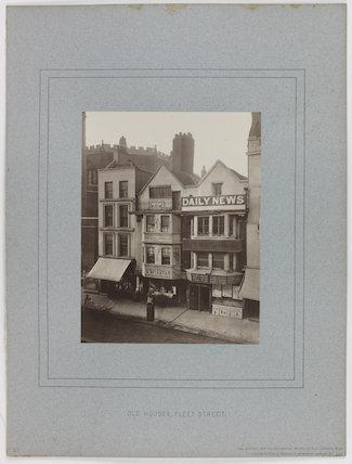 'Old Houses, Fleet Street'