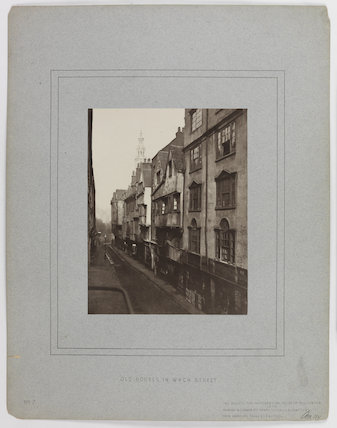 'Old Houses in Wych Street'