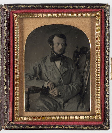 Seated Man, about 1860
